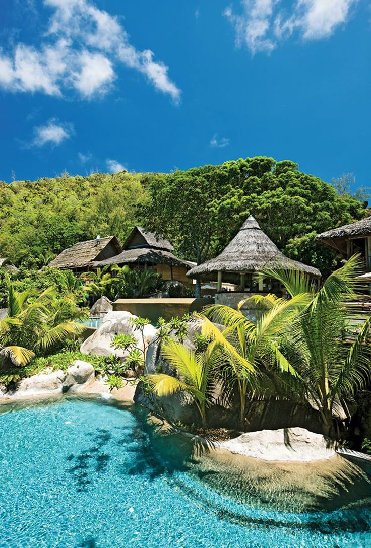 Ah Praslin, the perfect tropical getaway.