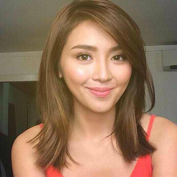 Angel Locsin New Hair Color Head And Shoulder Head And Shoulder