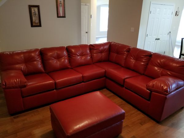 Sectional With Ottoman Only Free Delivery And Free Set Up For Sale