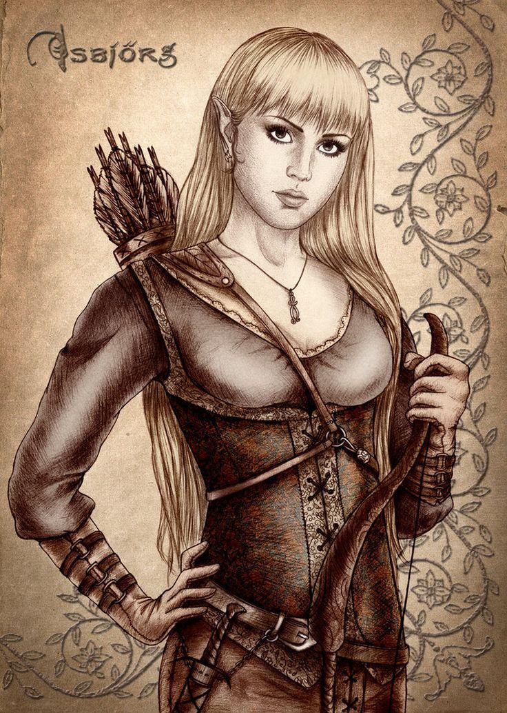 Weibliche mythologische sexy der Kreatur