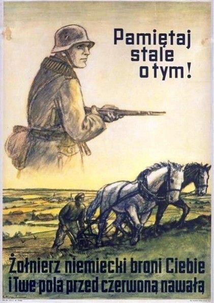 Pamiętaj, że Hitler jest Twoim obrońcą! Niemiecka propaganda w okupowanej Polsce.