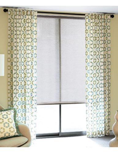 not shade so much--nice drapes.