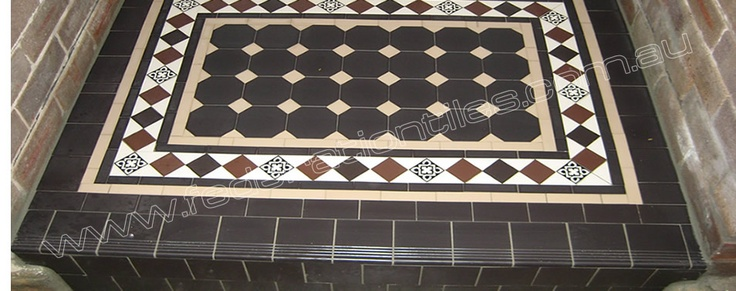 Federation Tiles & Tiling in Sydney Australia. Check our latest projects of Victorian, Edwardian and Federation Tessellated Floor Tiles.