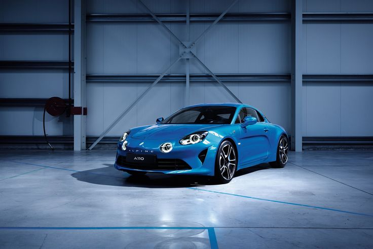 ALPINE REVEALS THE FIRST IMAGES OF ITS NEW PRODUCTION CAR : THE NEW A110