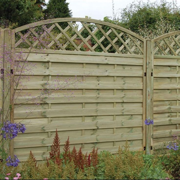 Top 25 ideas about cheap fence panels on pinterest for Cheap fencing