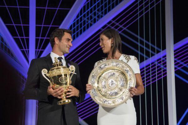 WTA Ranking Update | Federer up to ATP No. 3 after Wimbledon; Muguruza WTA No. 5 | Newsday