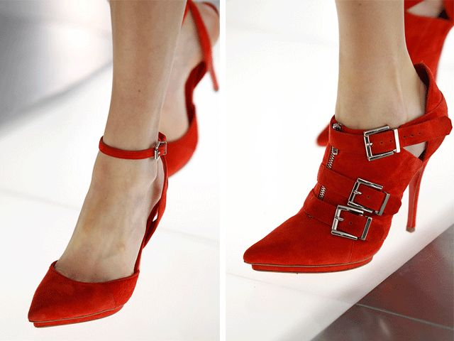 23 примера одежды и обуви из лоскутов - весенний тренд 2013 года