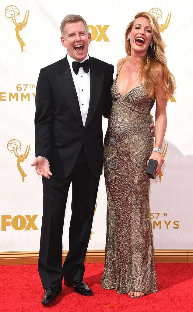Patrick Kielty & Cat Deeley from 2015 Emmys: Red Carpet Couples   E! Online