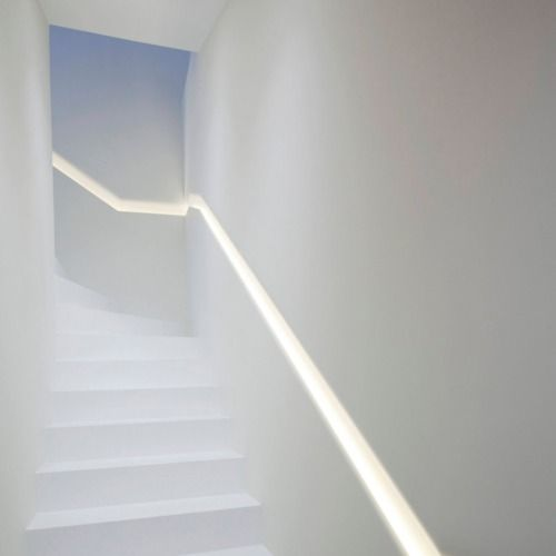 Best Stairs Beautiful Illuminated Recessed Handrail 400 x 300