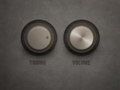 2 knobs