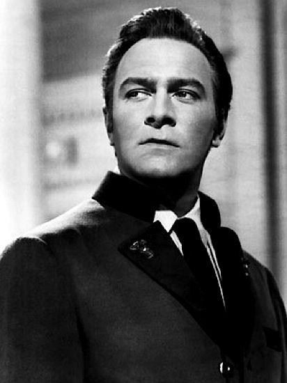 Christopher Plummer as Captain Von Trapp.