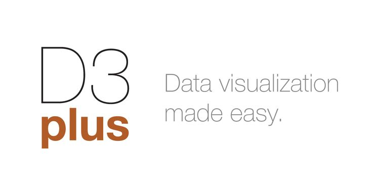 D3plus: ways to visualize a data set