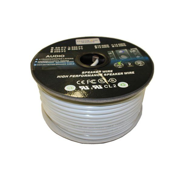 Electronicmaster 250 Ft 12 Awg 2 Wire Speaker Cable Rona Speaker Wire Wire Electronics