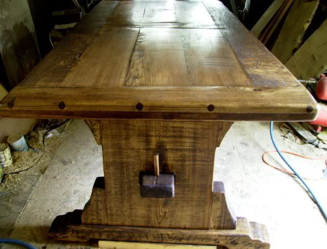 Medieval Trestle Table Kitchen Remodel Pinterest