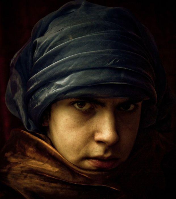 Un apprenti peintre,Amsterdam 1469 /©Edward Carlile