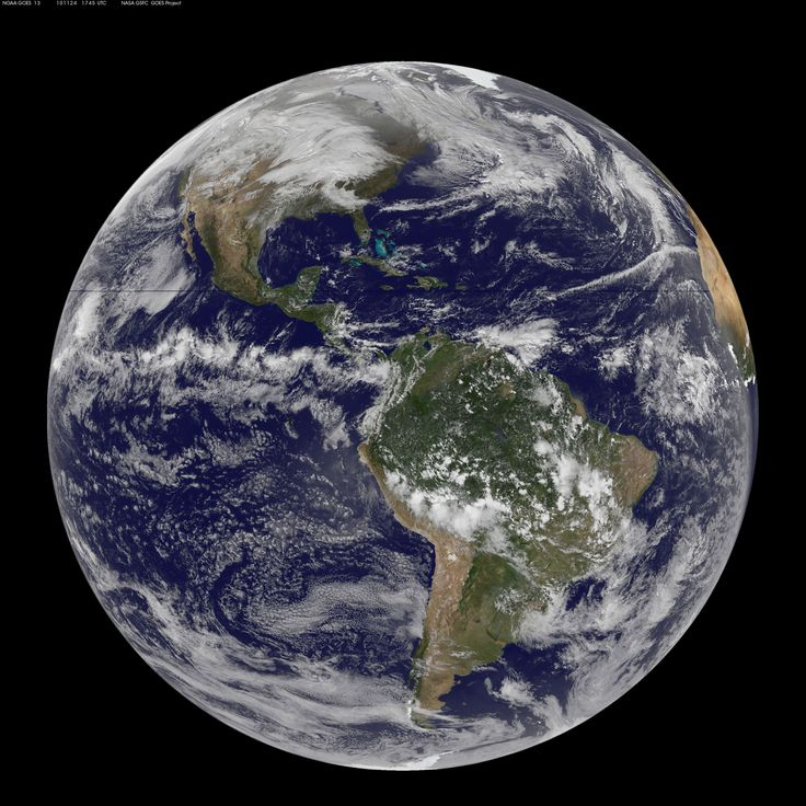 Earth - South America as seen from space | Planets & Moons ...