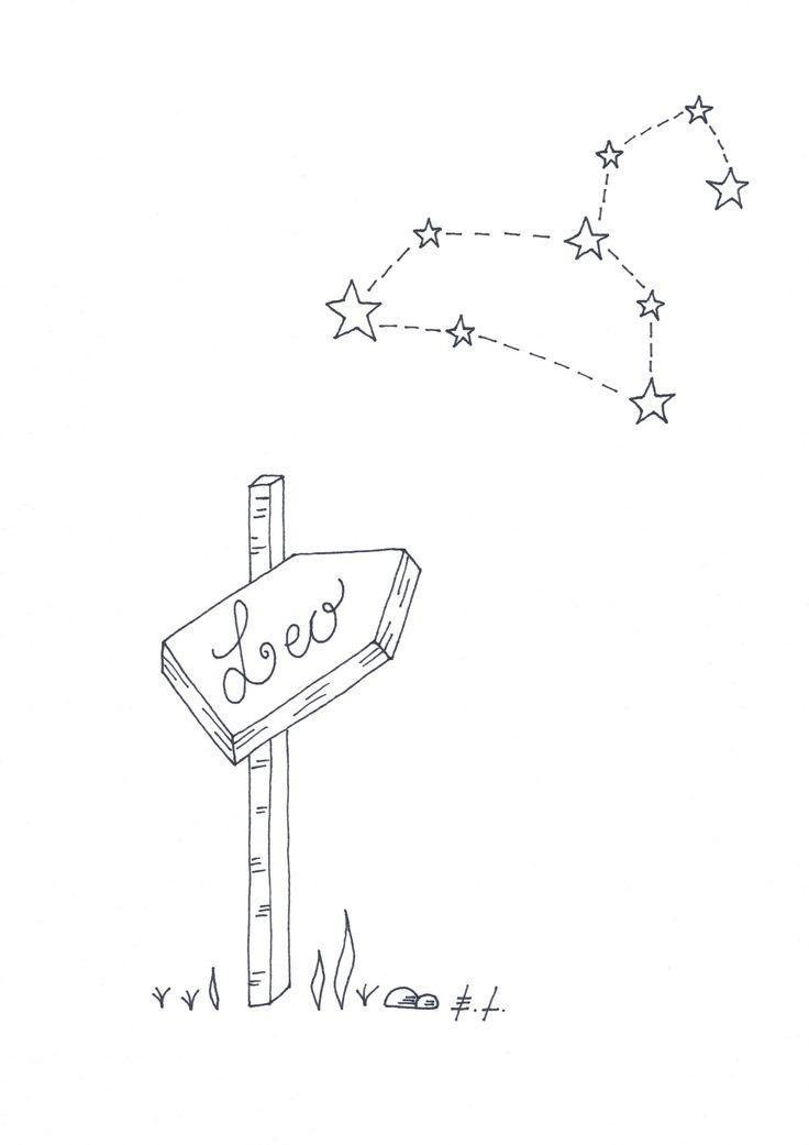 Leo, segno zodiacale Leone, poster stampabile, stampa d'arte, download istantaneo, scarica e stampa, astrologia, costellazioni, home decor di ELdesignArt su Etsy