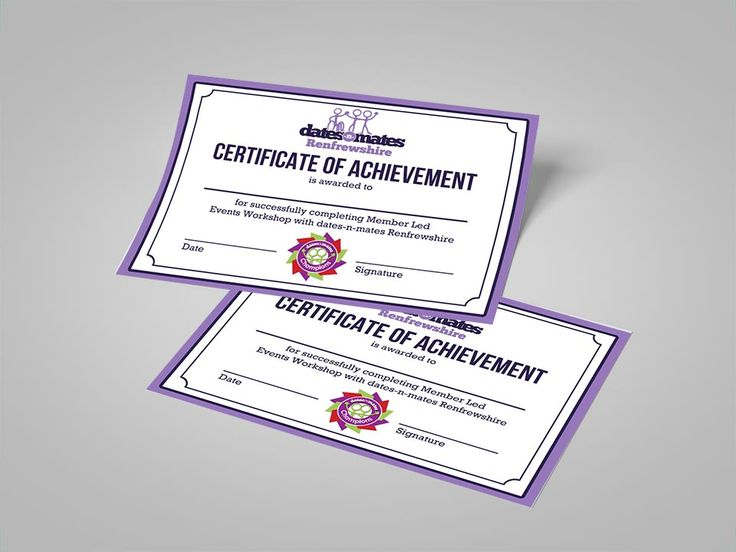 Renfrewshire Member Led Certificates in 2020 Certificate
