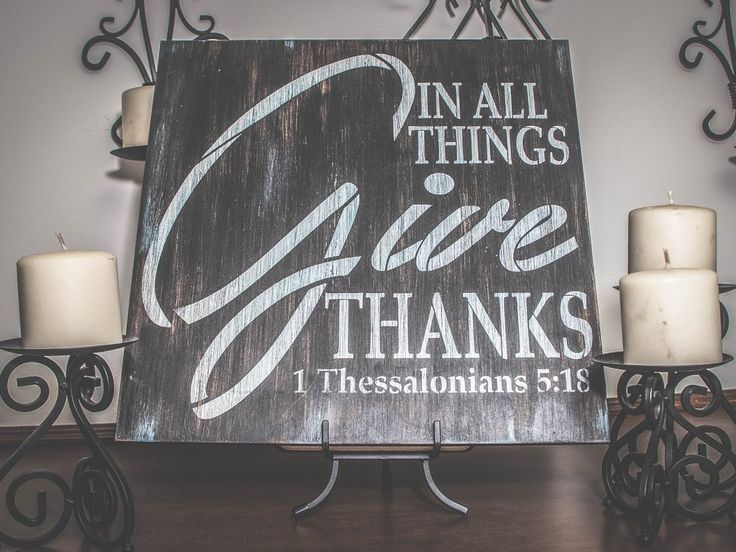 In All Things Give Thanks Stencil by StudioR12 in 2020