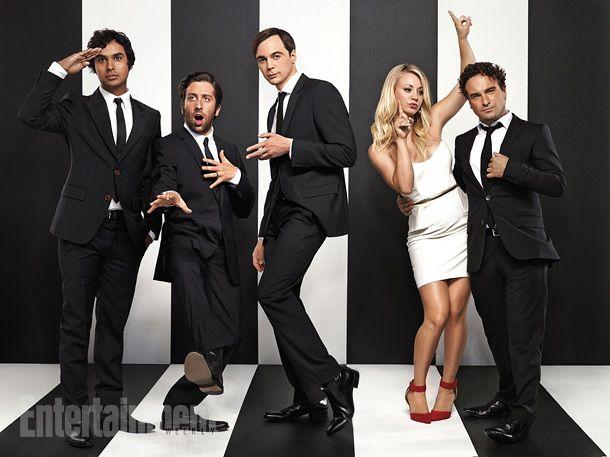 The Big Bang Theory's: Kunal Nayyar, Simon Helberg, Jim Parsons, Kaley Cuoco & Johnny Galecki <3