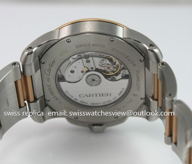 Cartier Calibre de Cartier Gold/steel W7100036 Cartier Calibre de Cartier Gold/steel W7100036 [W7100036] - $317.00 : AAATOPWATCH.COM