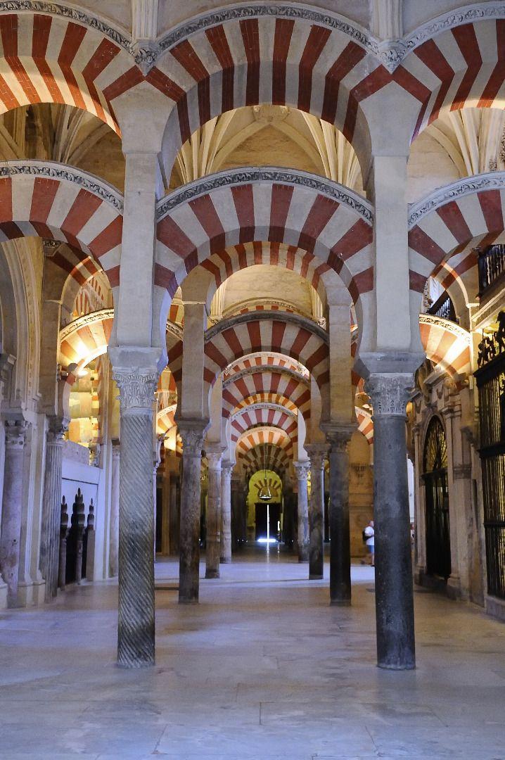 Ein Bild aus dem Inneren der Mezquita