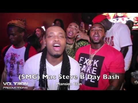 Mac Steve (SMG) Bday Mansion Elan (CMG) Snootie Wild, Lil Scrappy, Atlan...