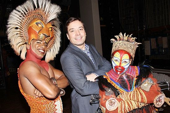 TheLionKing on Broadway  & the Tonight Show with Jimmy Fallon while in NYC