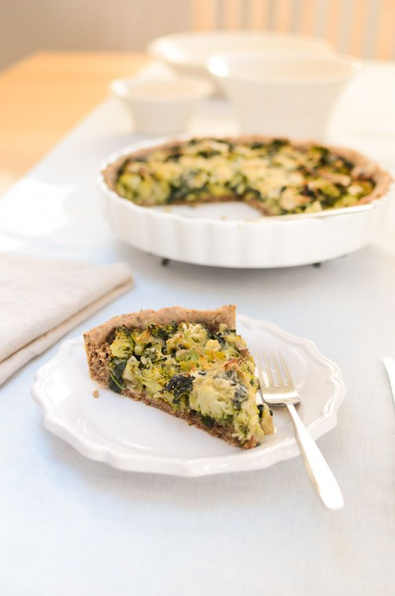, broccoli and kale all suited for the purpose. Most vegan quiches ...