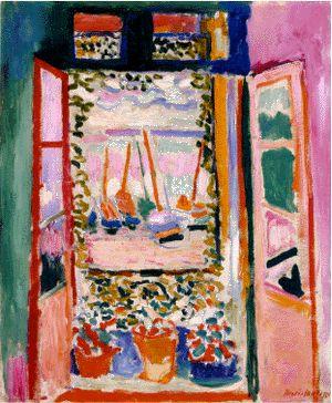 :: 『コリウールのフランス窓』 by アンリ・マティス   with a kiss, passing the key ::