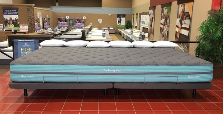 Bed Designers Taylor Wells Have Created A Solution With The Family Bed Xl A 12 Foot Mattress That S Equivalent To Two Califo Family Bed Bed Cosleeping Bed