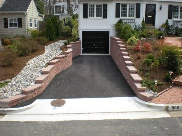 This #segmented retaining #wall will make the view from the front ...