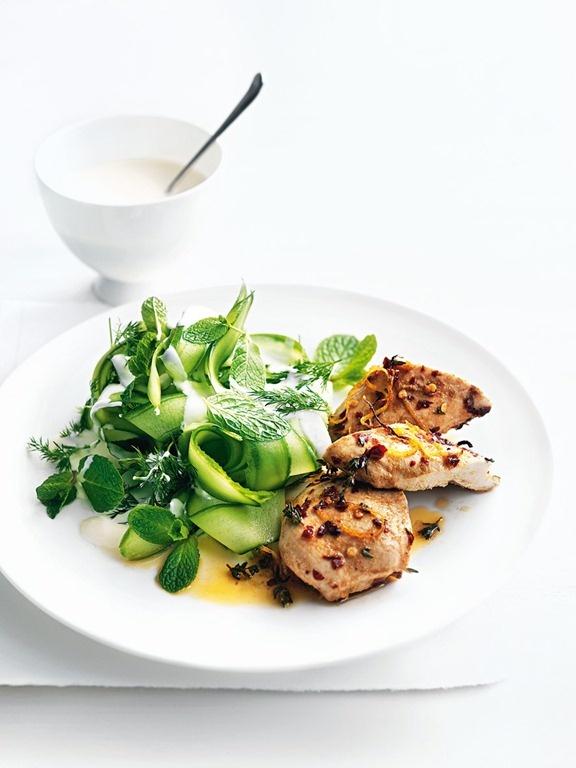 spicy chicken // donna hay (made this recipe the other night....soooooo good!!