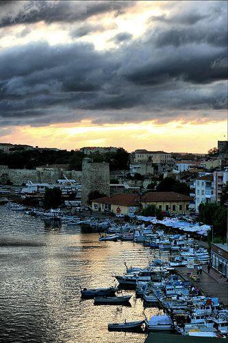 Sinop Harbor, Turkey