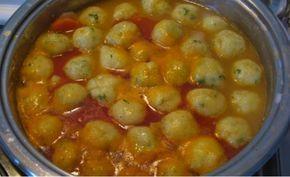 Jedinečná polievka so zemiakovými knedlíčkami podľa mojej babičky pripravená za 10 minút! - Báječná vareška