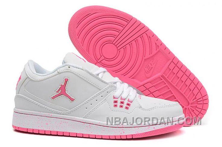 http://www.nbajordan.com/girls-air-jordan-1-low-white-pink-shoes-for-sale.html GIRLS AIR JORDAN 1 LOW WHITE PINK SHOES FOR SALE Only $93.00 , Free Shipping!