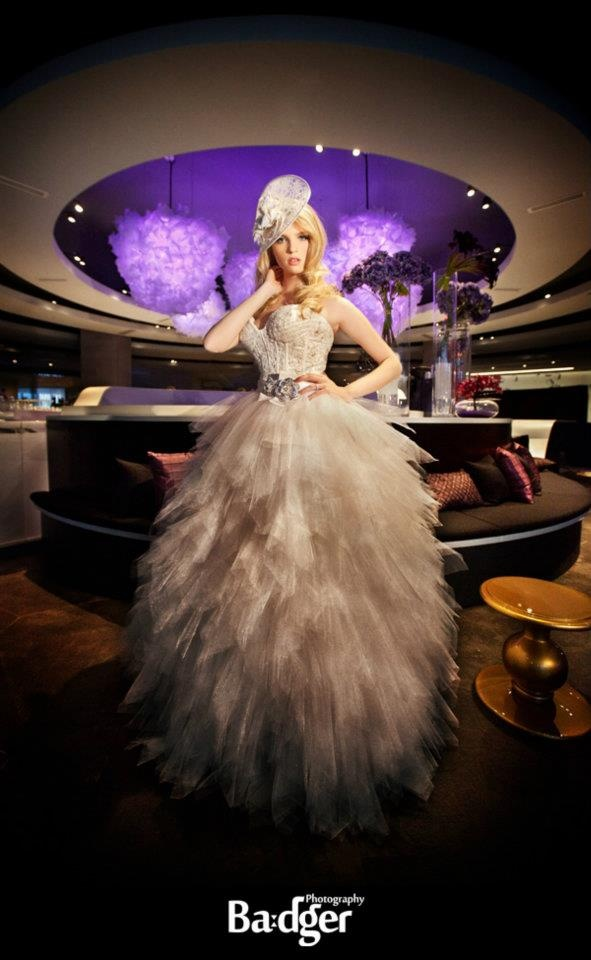 Shooting by Badger Photography for Maddy K's Bridal Boudoir Affair at Montreal's Hyatt Regency - badgerphotography.ca
