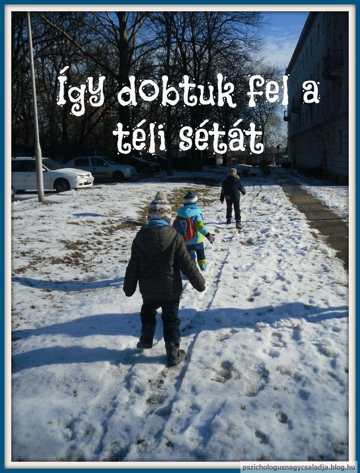 Játékötlet téli sétához :) http://pszichologusnagycsaladja.blog.hu/2017/02/12/igy_dobtuk_fel_a_teli_setat