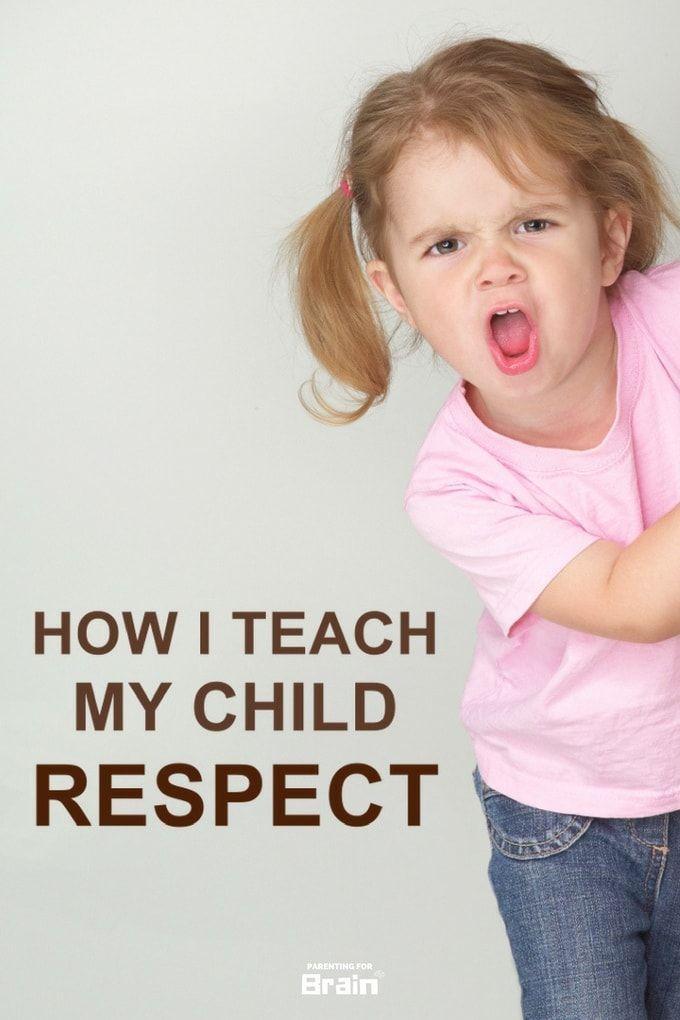 Teaching Kids Respect - Discipline For Kids #Parenting #Infographic #parentingforbrain