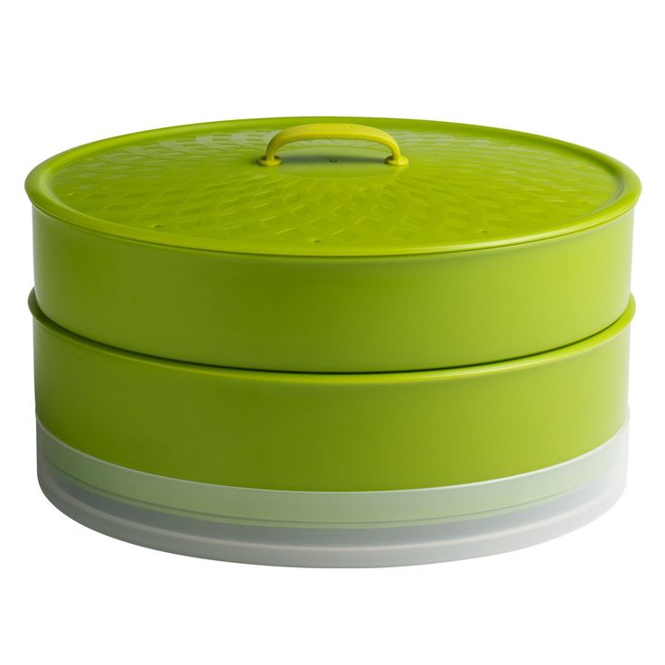 Chef'n SteamSum Stackable Stovetop Wok or Microwave Steamer (10-Inch, Green) >>> Details can be found by clicking on the image.