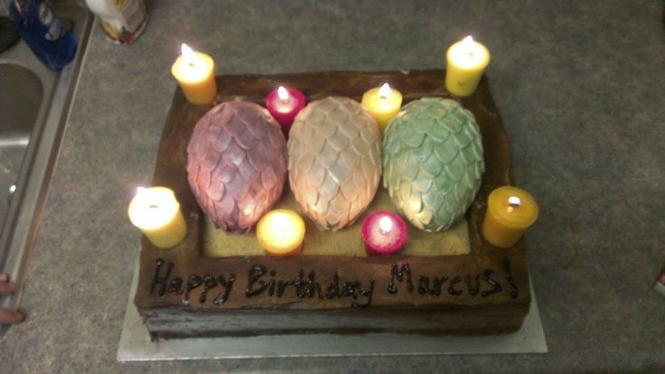 how to make a game of thrones dragon egg cake - Google ...