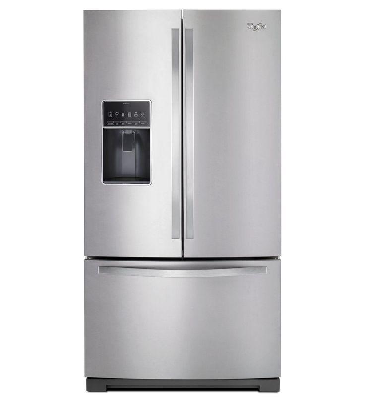 36inch wide french door bottom freezer refrigerator with