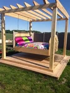 Outside Beds best 20+ outdoor swing beds ideas on pinterest | pergola ideas