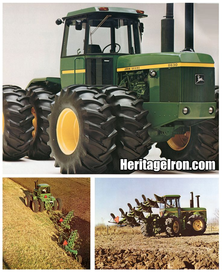 Did anyone learn anything new or interesting about John Deere's 8430 and 8630 4WD tractors in the latest issue of Heritage Iron? Let us know in the comments. We love to hear our readers' thoughts! #HeritageIron #42 #JD #JohnDeere