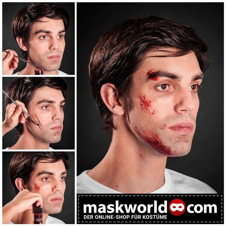 #halloween #horror #makeup #mua #blut #kunstblut #blood #fakeblood