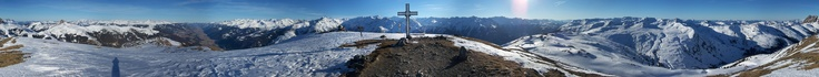 panoramafoto wildkogel