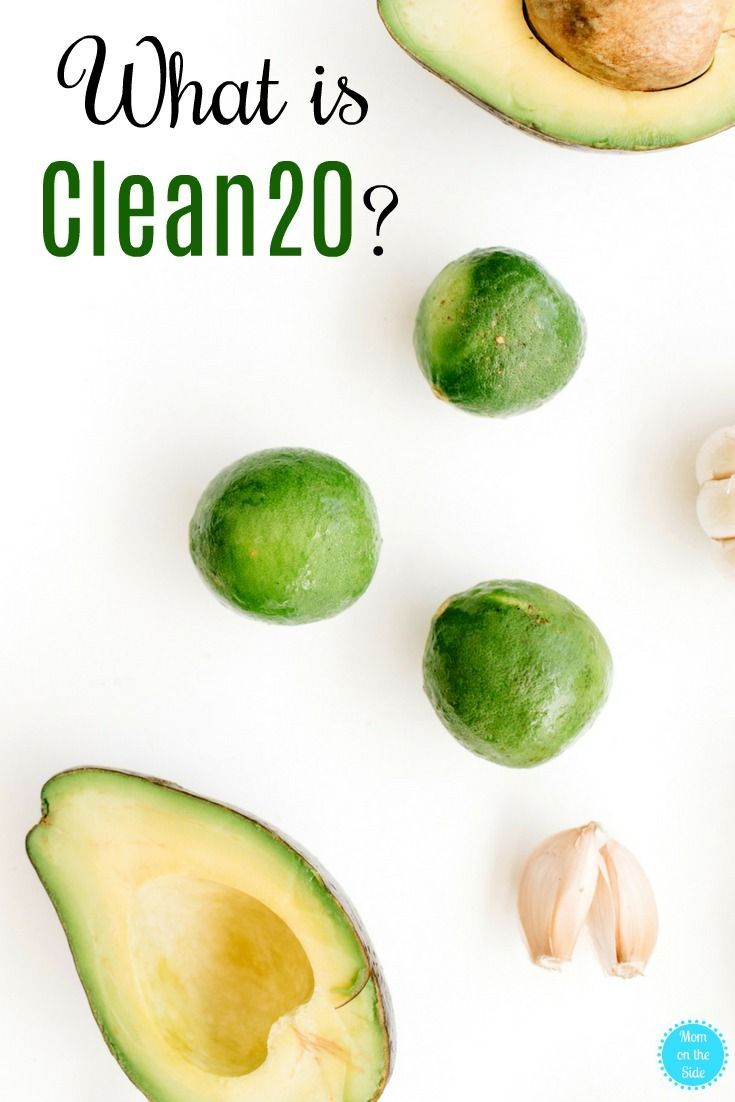 what is the clean 20 diet