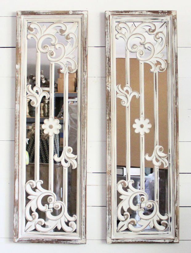 Antique Mirror Wall Panels