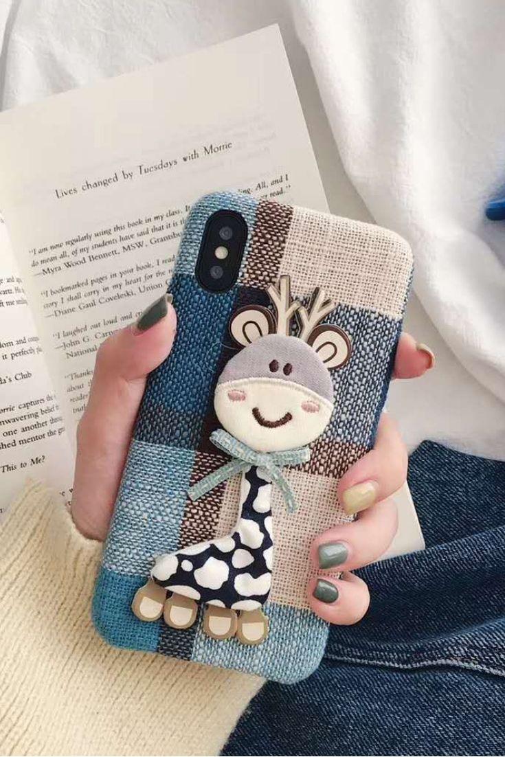 Cute Carton IPhone Case For IPhone X Dengan Gambar