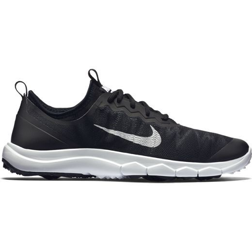 Check out what Lori's Golf Shoppe has for your days on and off the golf course! Black/White Nike Ladies Fi Bermuda Golf Shoes #lorisgolfshoppe